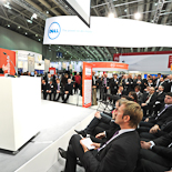 Verleihung des INNOVATIONSPREIS-IT 2011 am 03.03.11 auf dem Messestand von Dell.