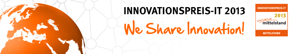 INNOVATIONSPREIS-IT 2013 - We Share Innovation
